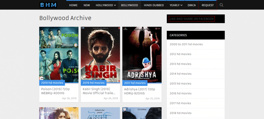 Download Bollywood movies