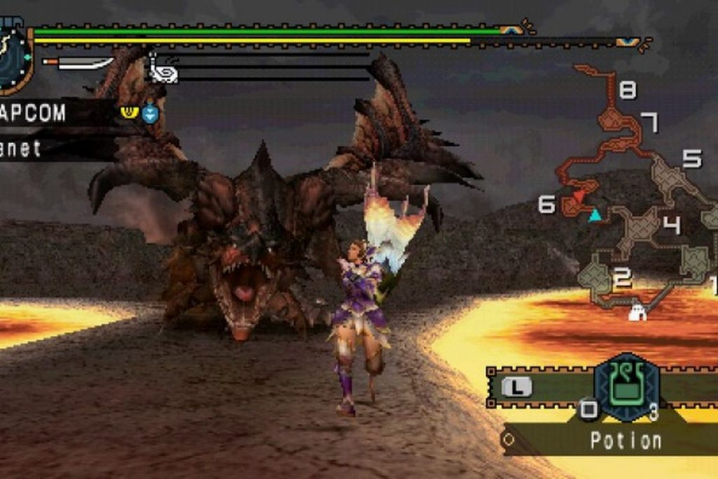 Monster Hunter Freedom Unite PPSSPP Games