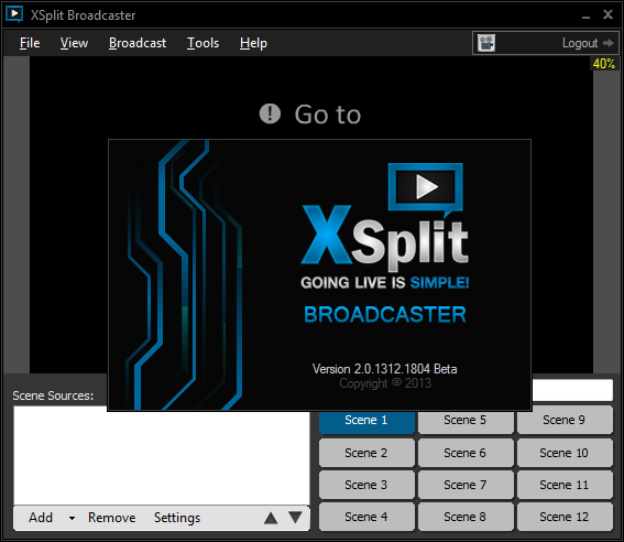 Xsplit Gamecaster - Game recording software