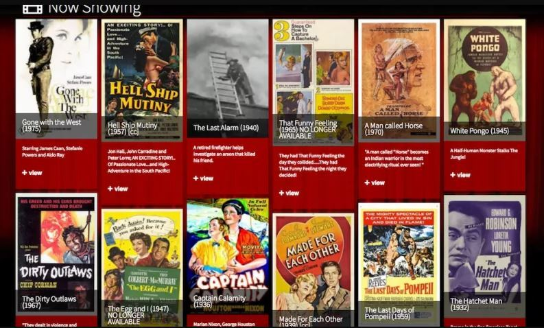 Classic-Cinema-Online - Best Free movies streaming sites