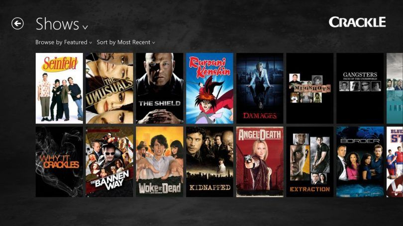 Crackle - Best Free Movie Streaming Site