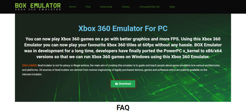 download xbox 360 emulator for pc windows 7 64 bit
